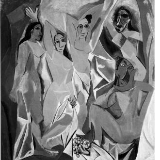 Πάμπλο Πικάσο, «Οι δεσποινίδες της Αβινιόν»