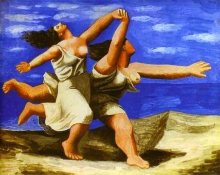 Πάμπλο Πικάσο, «Γυναίκες που τρέχουν στην ακτή», 1922