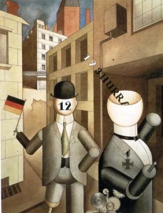 Τζωρτζ Γκρος, «Ρομπότ της δημοκρατίας», 1920