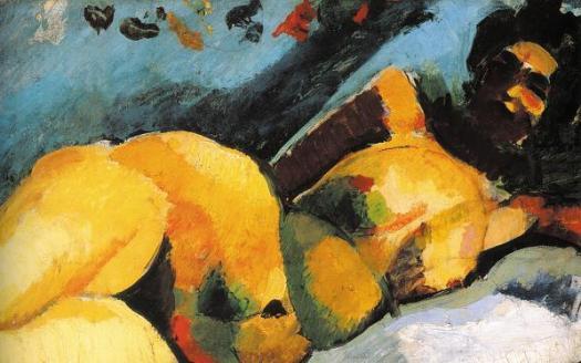 Ρόμπερτ Μπερένι, «Γυμνή γυναίκα ξαπλωμένη», 1907