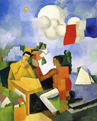 Roger de la Frasnaye, «Η κατάκτηση του αέρα», 1913