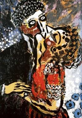 Φρανσίς Πικάμπια, «Το φιλί», 1923-1926