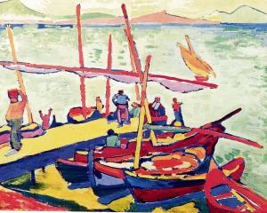 Αντρέ Ντεραίν, «Βάρκες», 1906