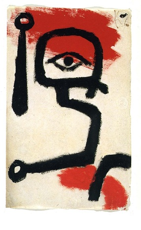 Πάουλ Κλε, «Τυμπανιστής», 1940