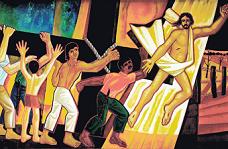 ράφος της θεολογίας της απελευθέρωσης.Από το εξώφυλλο του βιβλίου.