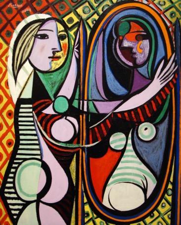 Πάμπλο Πικάσο, «Κορίτσι μπροστά στον καθρέφτη», 1932