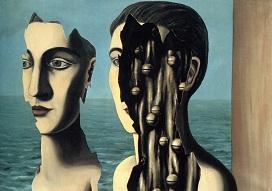 """Ρενέ Μαγκρίτ, """"το διπλό μυστικό"""", 1927"""
