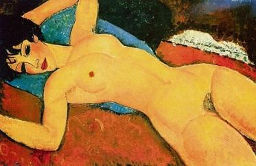 Έργο του Αμεντέο Μοντιλιάνι, 1917