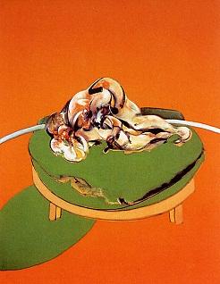 Έργο του Φράνσις Μπέικον, 1970