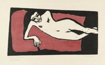 Έργο του Έριχ Χέκελ,  1910