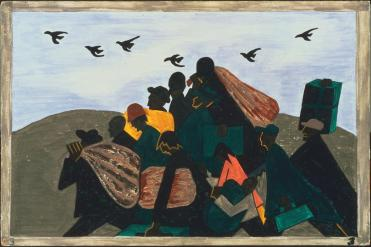 """Τζέικομπ Λώρενς,  από τη σειρά """"Μετανάστευση"""", 1940-1941"""