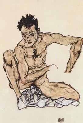 Έργο του Έγκον Σίλε, 1917