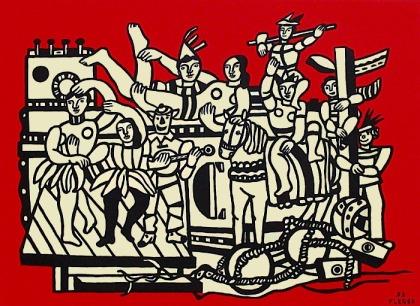 """Φερνάν Λεζέ, """"Η μεγάλη παρέλαση"""", 1953"""