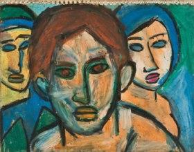 "Daniel Brobender, ""Τρία γυναικεία πρόσωπα"""