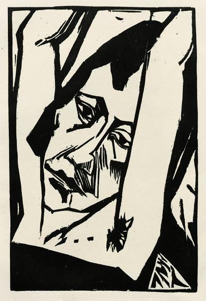 Έριχ Χέκελ, «Κορίτσι», 1913