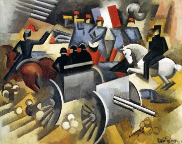 Roger de La Fresnaye, «Πυροβολικό», 1911