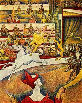 """Ζωρζ Σερά, """"Το τσίρκο"""", 1891"""