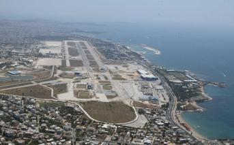 """Έκταση προς """"αξιοποίηση"""" στο πρώην αεροδρόμιο Ελληνικού"""