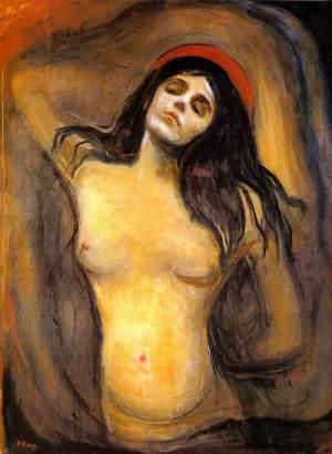 """Έντβαρντ Μυνκ, """"Mαντόνα"""", 1894-1895"""