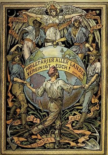 Αφίσα του Ουώλτερ Κρέιν, τέλη του 19ου αιώνα