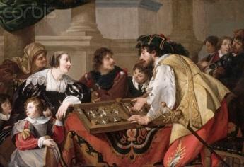 Theodoor Rombouts, «Oι ταβλαδόροι, 1634