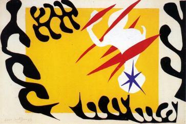 Έργο του Ανρί Ματίς από την ενότητα «Τζαζ»