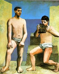 Πάμπλο Πικάσο, «Οι αυλοί του Πανός», 1923