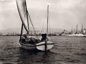 Πειραιάς 1906. Φωτογραφία του Φρεντ Μπουασσονά