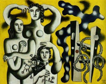 """Φερνάν Λεζέ, """"Σύνθεση με τρεις μορφές, 1932"""