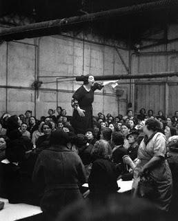 Απεργία στη Σιτροέν, 1938. Φωτογραφία του Willy Ronis