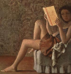 """Μπαλτύς, """"Η Κάτια που διαβάζει"""", 1976"""
