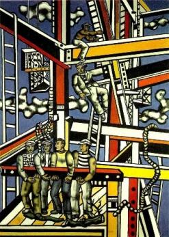 """Φερνάν Λεζέ, """"Οι χτίστες"""", 1950"""