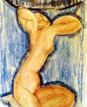 Αμεντέο Μοντιλιάνι, «Καρυάτις», 1913-14
