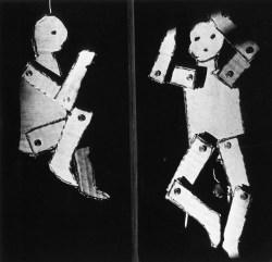 Kρίστιαν Μπολτάνσκι, «Θεατρική σύνθεση», 1981 (λεπτομέρεια)
