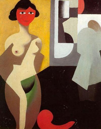 Ρενέ Μαγκρίτ, «Το μοντέλο», 1922