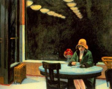 """Έντουαρντ  Χόπερ, """"Καφετέρια"""",  1927"""