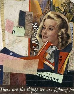Κολάζ του Κουρτ Σβίτερς, 1947