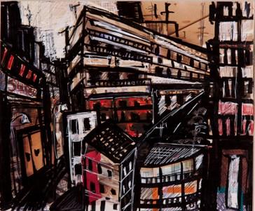 Έργο της Κατερίνας Δροσοπούλου, από την πρώτη ατομική της έκθεση ζωγραφικής, που εγκαινιάζεται τηνΠέμπτη 11 Απριλίου στις 19.30 στην αίθουσα «ΠΕΡΙΤΕΧΝΩΝ» (Ηροδότου 5, Κολωνάκι) και θα διαρκέσει μέχρ τις 18 Μαΐου
