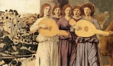 Πιέρο Ντέλλα Φραντζέσκα, «Η γέννηση» (λεπτομέρεια), 1470-1475