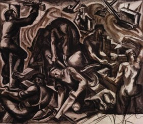 "James Daugherty, ""Oικοδόμοι"", 1936"