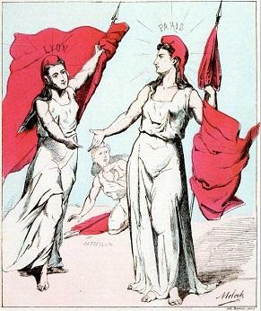 Αφίσα της Παρισινής Κομμούνας