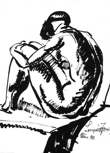 Σχέδιο του Γιόζεφ Νέμες Λάμπεθ, 1913