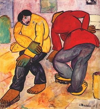 Έργο του Κάζιμιρ Μάλεβιτς, 1911