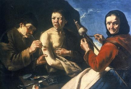 Έργο του Σεμπαστιανόνε, αρχές του 18ου αιώνα