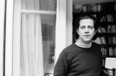 Ο Νίκος Πουλαντζάς 20.1.1978. Φωτογραφία της Sophie Bassouls.