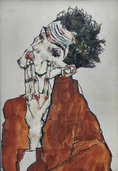Έργο του Έγκον Σίλε, 1911