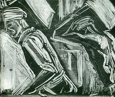 Βάλιας Σεμερτζίδης, Μπετατζήδες, 1960, μονοτυπία