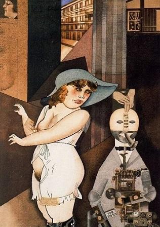 Έργο του Τζωρτζ Γκρος, 1920