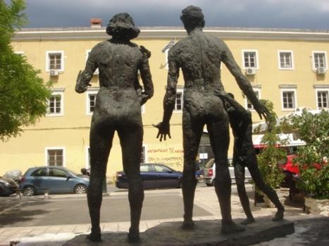 Μνημείο Ολοκαυτώματος, Κέρκυρα