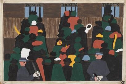 Τζέικομπ Λώρενς, από τη σειρά «Μετανάστευση», 1940-1941